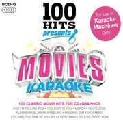 Karaoke: 100 Hits Presents Movies /  Various (5PC) [Import] , Various Artists