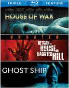 House of Wax/Return to House on Haunted Hill/Ghost Ship (Blu-Ray) at Kmart.com