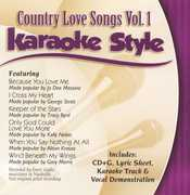 Karaoke Style: Country Love Songs, Vol. 1 (CD) at Kmart.com