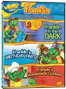 Franklin: Franklin in the Dark/Franklin's Birthday Party/Franklin's Homemade Cookies (DVD) at Kmart.com