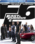 Fast & Furious 6 (Blu-Ray + DVD + UltraViolet) at Kmart.com