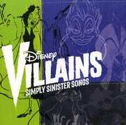Disney Villains: Simply Sinister Songs (CD) at Kmart.com