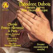 Th?odre Dubois: 3 messes br?ves pour ch?ur & orgue (CD) at Sears.com