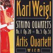 Karl Weigl: String Quartets No. 1 Op. 20, No. 5 Op. 31 (CD) at Sears.com