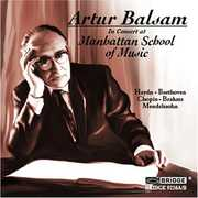 Artur Balsam in Concert at Manhattan School of Music (CD) at Kmart.com