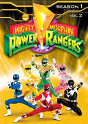Mighty Morphin Power Rangers: Season 1, Vol. 2 (DVD) at Kmart.com