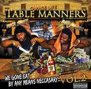 Table Manners: We Gone Eat By Any Means Nec 2 (CD) at Kmart.com