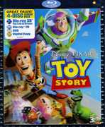 Toy Story (3-D BluRay + DVD + Digital Copy) at Sears.com