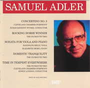 Samuel Adler: Concertino No. 3; Rocking Horse Winner; Sonata for Viola and Piano (CD) at Kmart.com