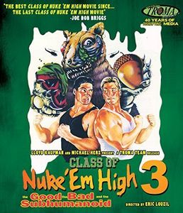 Class of Nuke 'Em High III: Good Bad & Subhumanoid , Brick Bronsky