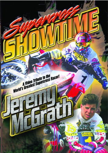 Supercross Showtime W/Jeremy Mcgrath (2014, DVD NEW)