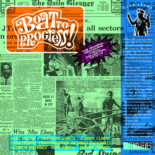 Boat To Progress - Glen Brown (2016, CD NEW)