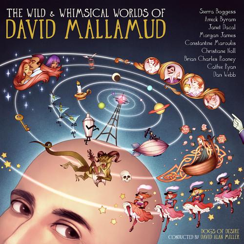 Wild & Whimsical Worlds Of David Mallamud - Various Artist (2016, CD NEW)