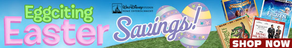 Family Movies Easter Sale by Walt Disney Video