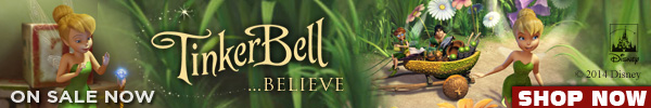 Tinker Bell Movies Sale by Walt Disney Video