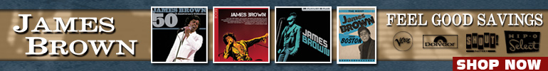 James Brown Music Sale for a Limited Time