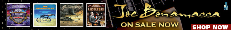 Joe Bonamassa Music Sale for a Limited Time