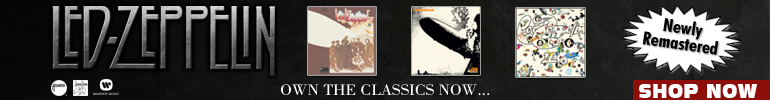 Led Zeppelin Music Sale for a Limited Time