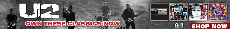 U2 Music Sale for a Limited Time