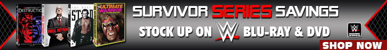 WWE Survivor Series Sale for a Limited Time