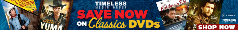 Classics DVDs Sale by Timeless Media Group sale for a limited time