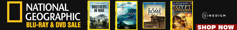 National Geographic Movie Sale for a limited time