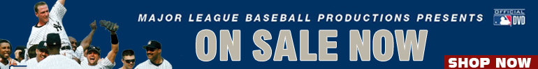 MLB DVDs and Blu-ray sale by A&E Home Video for a limited time