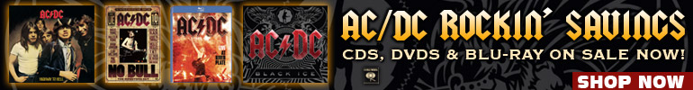 AC/DC CDs, DVD and Blu-ray Sale for a Limited Time