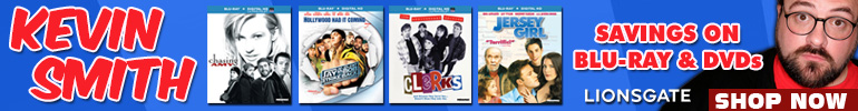 Kevin Smith Savings On Blu-Ray & DVD for a Limited Time