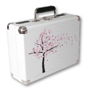 cherry blossom - vinyl styl turntable