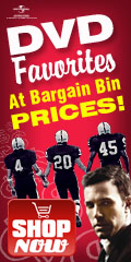 Value DVD Favorites Bargain Bin by Univeral Studios