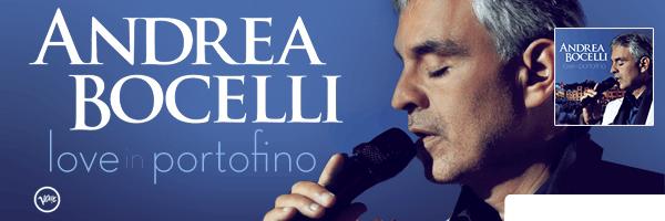 Love in Portofino, Andrea Bocelli