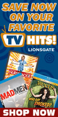 TV shows DVD Blu-ray on sale by Lions Gate for a limited time