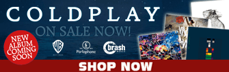 Coldplay CDs music and live performances on sale for a limited time