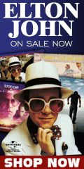 Elton John CDs and music performances on sale by Sony for a limited time
