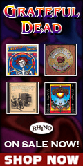 Grateful Dead CDs music on sale for a limited time.