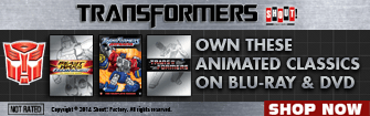 Transformers Animated Classsics Sale for Limited time