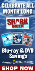 Shark Week Blu-ray and DVD Sale