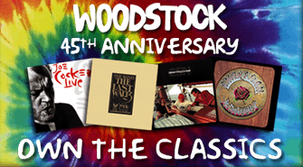 Woodstock 45th Anniversary Sale a Limited Time