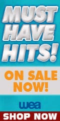 Music must have top sellers sale by WEA Music