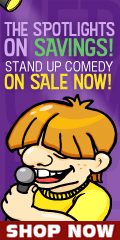 Stand Up Comedy Central DVD and Blu-ray movies on sale for a limited time