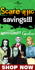Family Hallowen Movies Sale by Universal Studios for a Limited Time