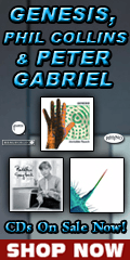 Genesis, Phil Collins & Peter Gabriel CDs Sale for a Limited Time