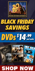 20th Century FOX Black Friday Savings $14.99 and Under DVD sale for a limited time