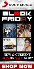 Black Friday Hits Sale by Sony Music for a limited time