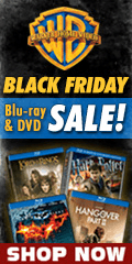 Warner Brother Black Friday Blu-ray and DVD sale for a limited time