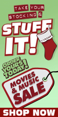 Blu-ray and DVD stocking stuffers on sale for a limited time