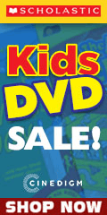 Scholastic  Kids DVDs Sale for a limited time