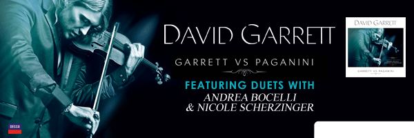 GARRETT,DAVID / GARRETT VS PAGANINI