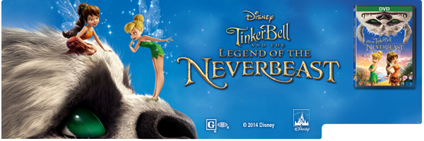 TINKER BELL & THE LEGEND OF THE NEVERBEAST / (DOL)